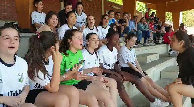 Torneo del @C_D_Pena solo 3 equipos femeninos , hay que apoyarnos entre nosotras Aupa @Bizkerreft y @BasaurikoKimuak  #JuntasSomosMasFuertes