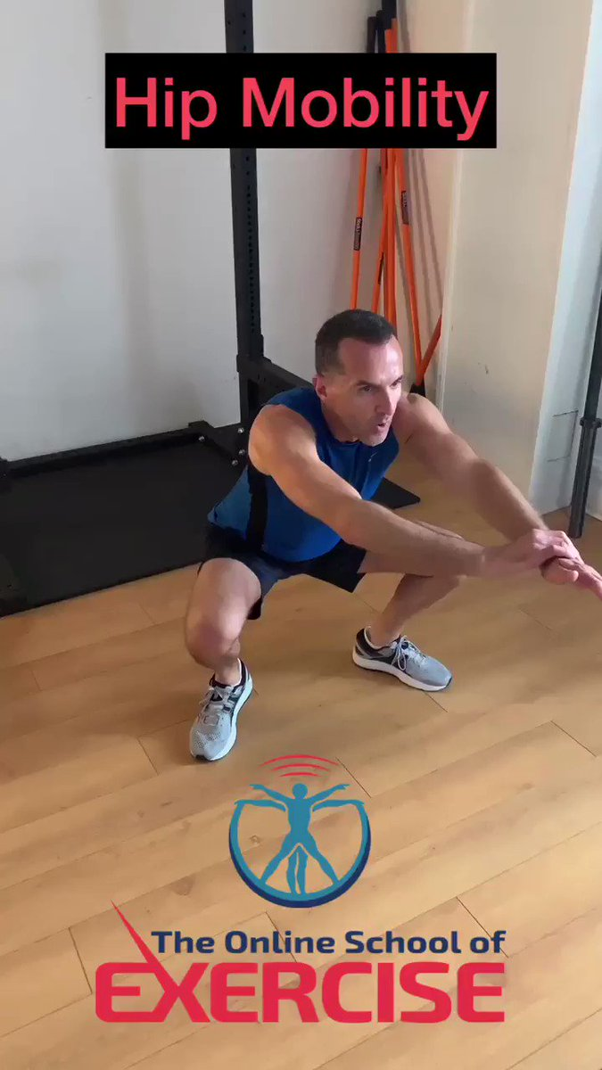 This video presents an effective hip mobility exercise for people who sit most of the day.  You will first feel the tightness of your joints, then stretch-induced heat.  The student featured in the clip consulted me for back pain 3 years ago. He couldn't hold a deep squat.