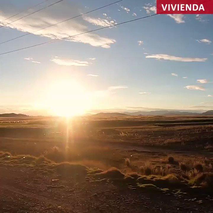 La población vulnerable a las heladas y el friaje mejorará su calidad de vida gracias al confort térmico que brindan las #SumaqWasi. Conoce las características de estas viviendas bioclimáticas que ya se ejecutan en la provincia de Huancané.