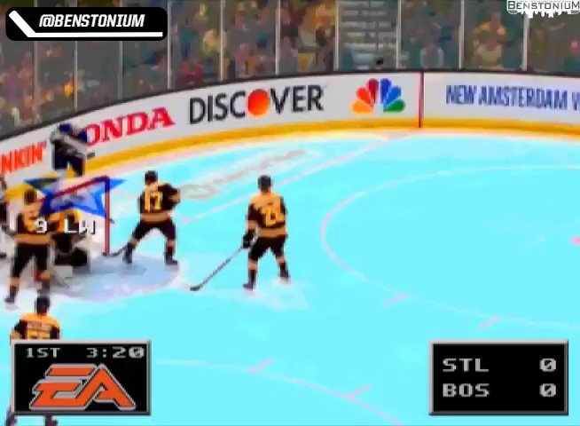 RT @NHL: The @StLouisBlues Cup-clinching victory, NHL '94 style.   #StanleyCup (via @Benstonium) https://t.co/SLcnKPDpOH
