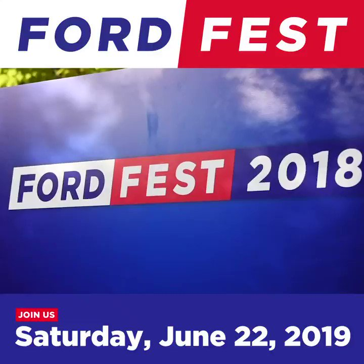 FORD FEST is only 1 week away!  This year's #FordFest is going to be bigger and better than ever!  Here's a look back at all the fun we had last year.  Everything is FREE – register today at http://FordFest.ca