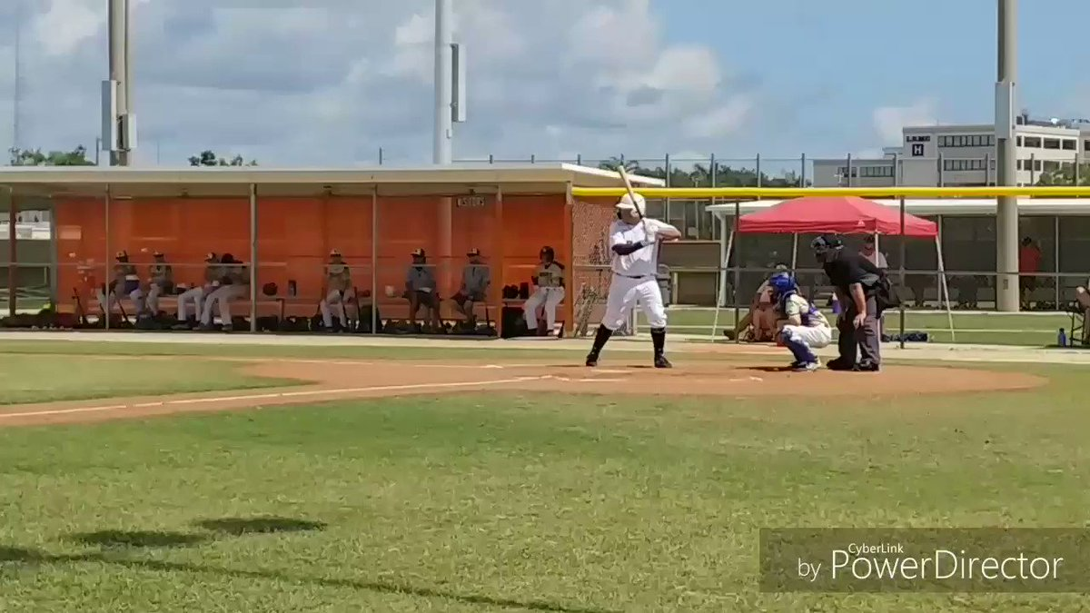 2022 1B Angelo Donayre @AngeloD_12 @VipersFL Fort Pierce Central High School  Goes 3 for 3 today with a clutch RBI Single for the game winner!  @ProspectWire Father's Day Tournament - Vipers win vs @pbselect1  Big Frame with lots of power! #FathersDayWeekend #classof2022 https://t.co/hbCLVhsE9k