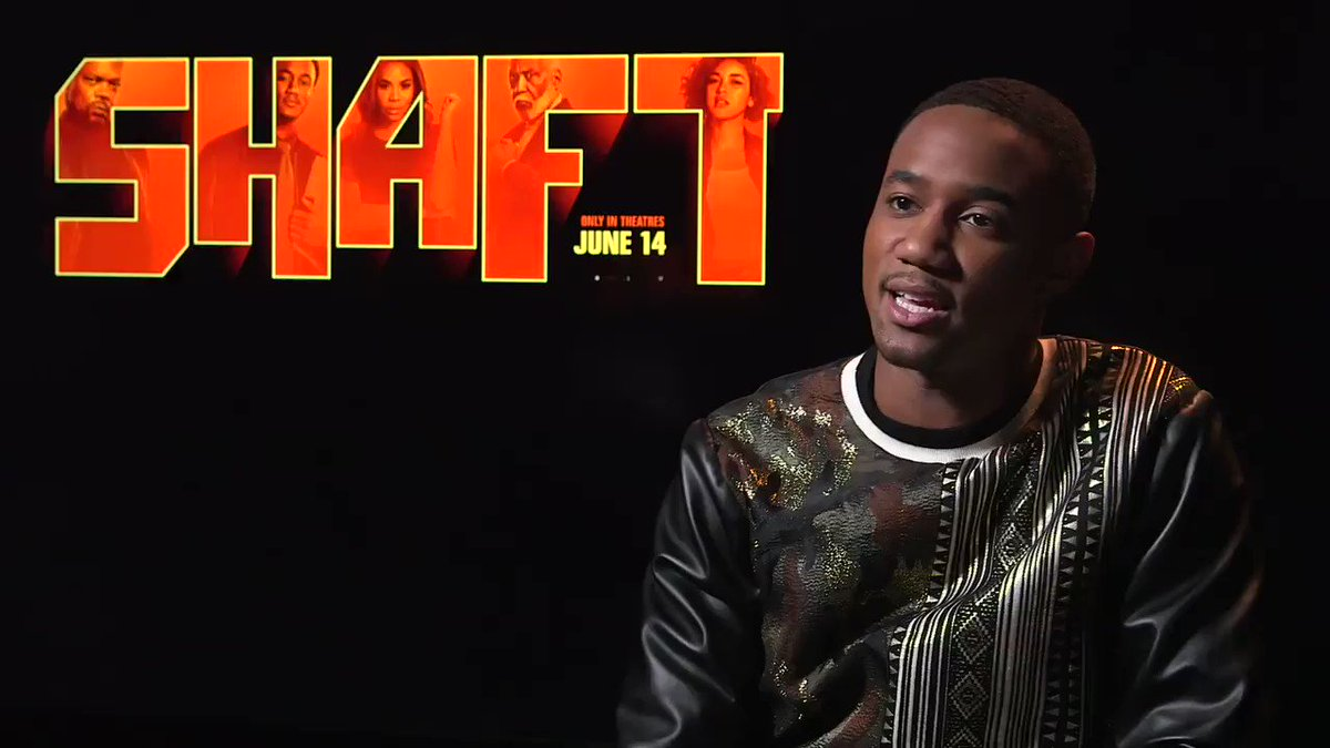 .@SHAFTMovie is now playing - @DamnitMaurie had some fun with star @The_JessieT for #FathersDay - @WarnerBrosCA #Shaft