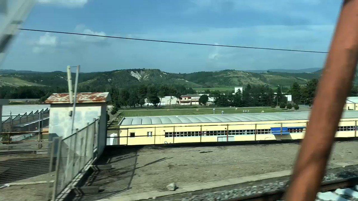 Image for the Tweet beginning: Rocketing through #Tuscany at 150