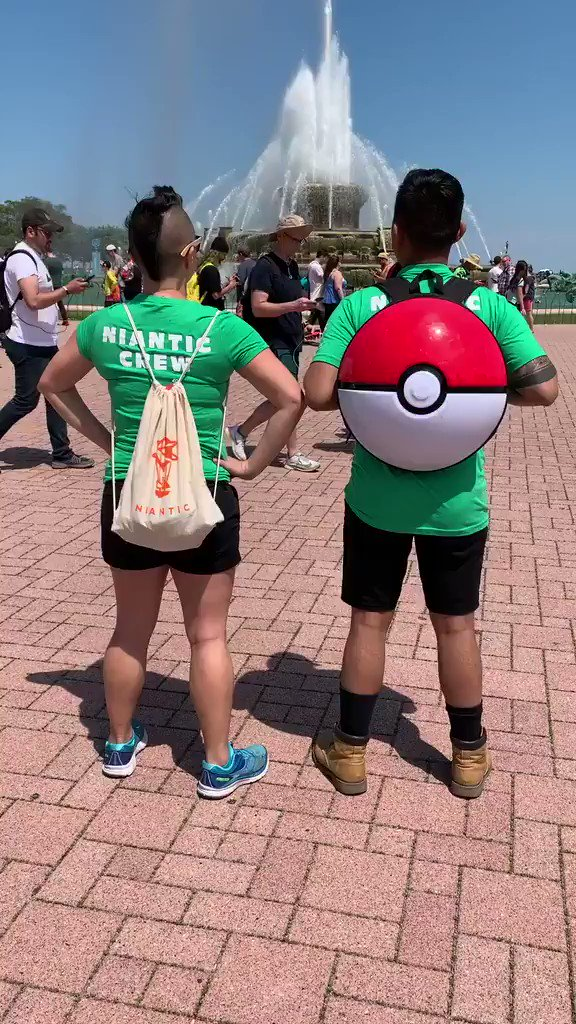 Experience #PokemonGOFest2019 in Chicago by checking out our Instagram story! Join us as we take you through Grant Park, talk with other Niantics on the ground, and show you other Pokémon GO Fest highlights! instagram.com/nianticlabs/