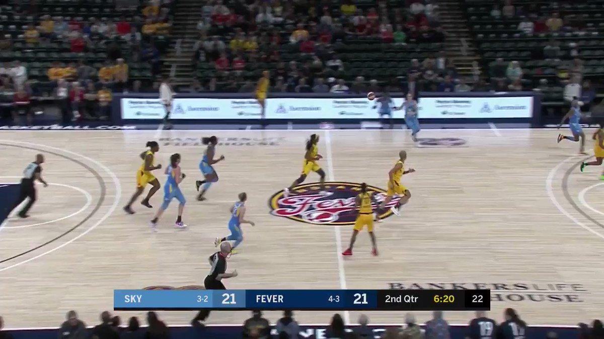 Cette passe Nesquik de @alliequigley 👀🔥😍😍 #SKYTOWN #WNBA #WnbaFr