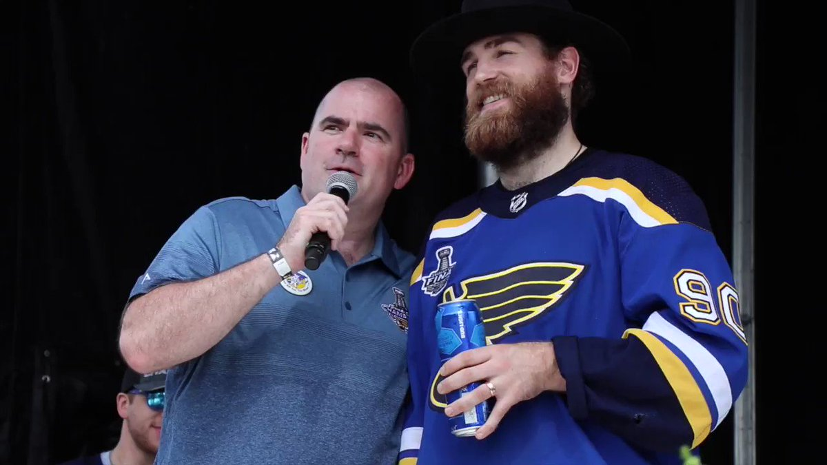 Ryan OReilly learned 3 AMAZING things about the people of #STL today: Theyre amazing hockey fans Theyre amazingly nice people. And theyre amazing drinkers as well, they can really hold their stuff. Its awesome. #STLBlues #BluesParade #StanleyCupChamps
