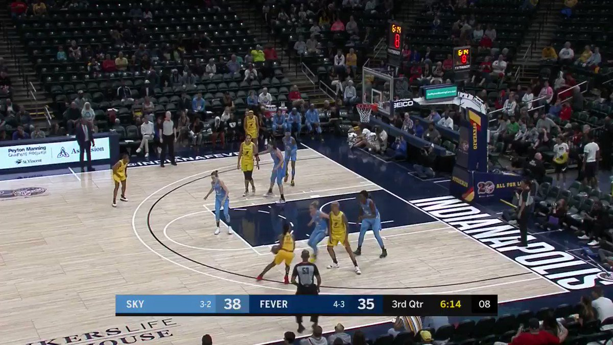 Wheeler with the pull-up jumper for ✌️ #Fever20