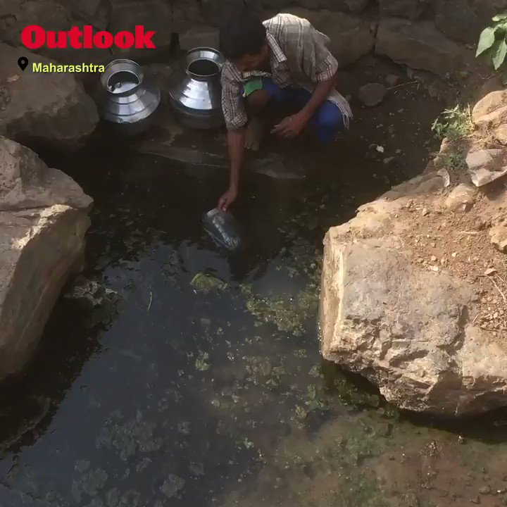All Is Not Well In Drought-Hit #Maharashtra  #drought #WaterCrisis   Read full story here: https://www.outlookindia.com/magazine/story/india-news-all-is-not-well/301804 …
