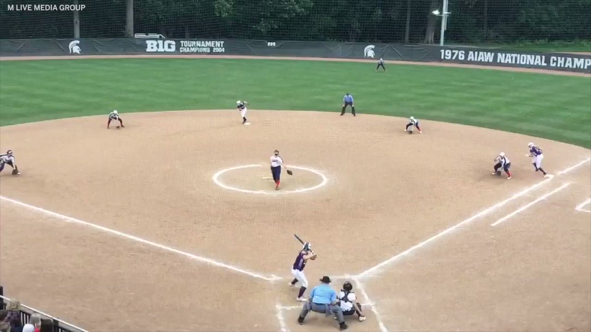 That's a triple play ... TO WIN THE STATE CHAMPIONSHIP 😱