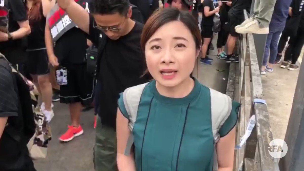 【香港616反送中大游行挤满铜锣湾】 【记者现场报道】