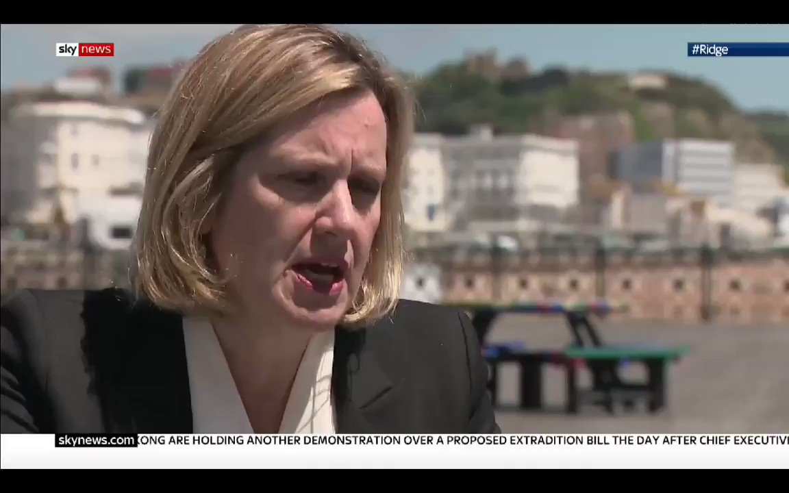 Amber Rudd - Some #ToryLeadership candidates are approaching #brexit with a do or die attitude & not considering the consequences to jobs. It is absolutely outrageous to suggest proroguing Parliament.. what happened to taking back control. #Ridge #marr #PeoplesVote