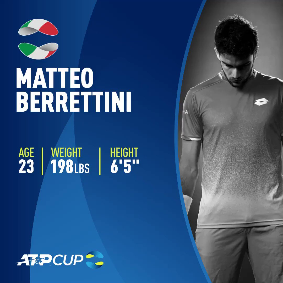 Can the Italian add another title #ATPTour 🏆 to his impressive career to date?   #MercedesCup | #ATPCup