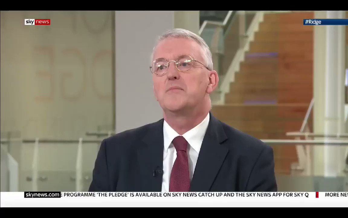 Image for the Tweet beginning: Hilary Benn - The only