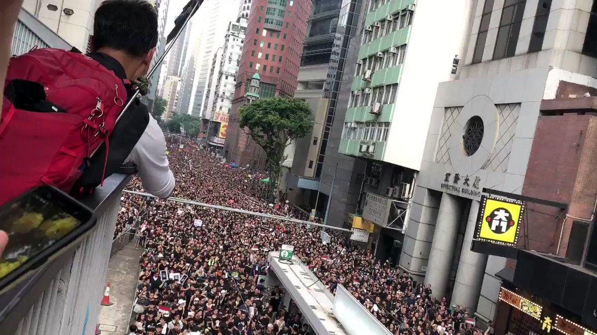 Today I feel a sense of awe at Hong Kongers. Their unity and purpose