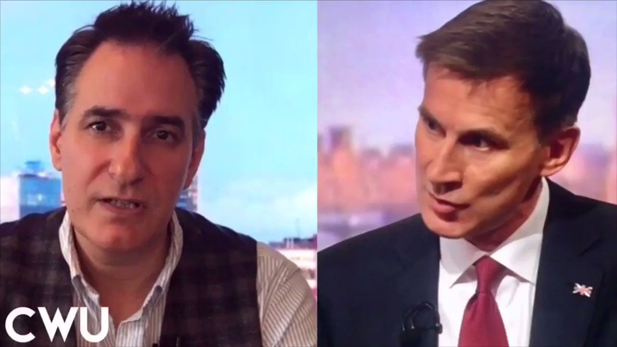 """On #Marr today Tory leadership candidate Jeremy Hunt boasted of achievements whilst Health Secretary & said he was responsible """"for the biggest increase of modern times in nurse training & doctor training places!"""" For the sake of our nurses & doctors LET'S PUT THE RECORD STRAIGHT"""