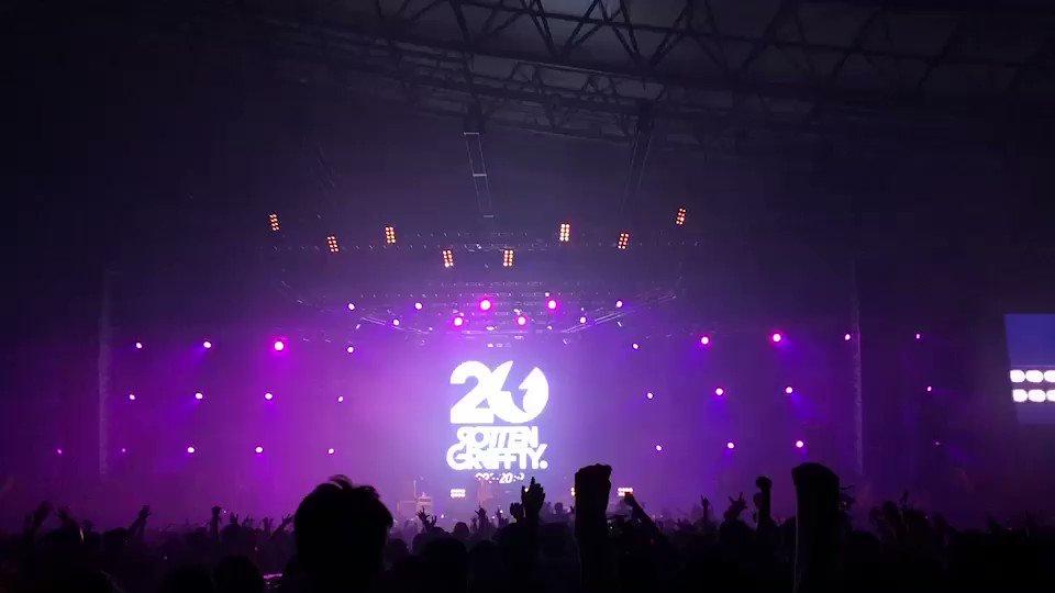 [ロットン情報]パンクロックの祭典!SATANIC CARNIVAL'19!感無量です😂本当にありがとうございました‼️また一回りも二回りも大きくなって戻って来たいと思います😈また必ずお逢いしましょう😆#ロットン20th #サタニック