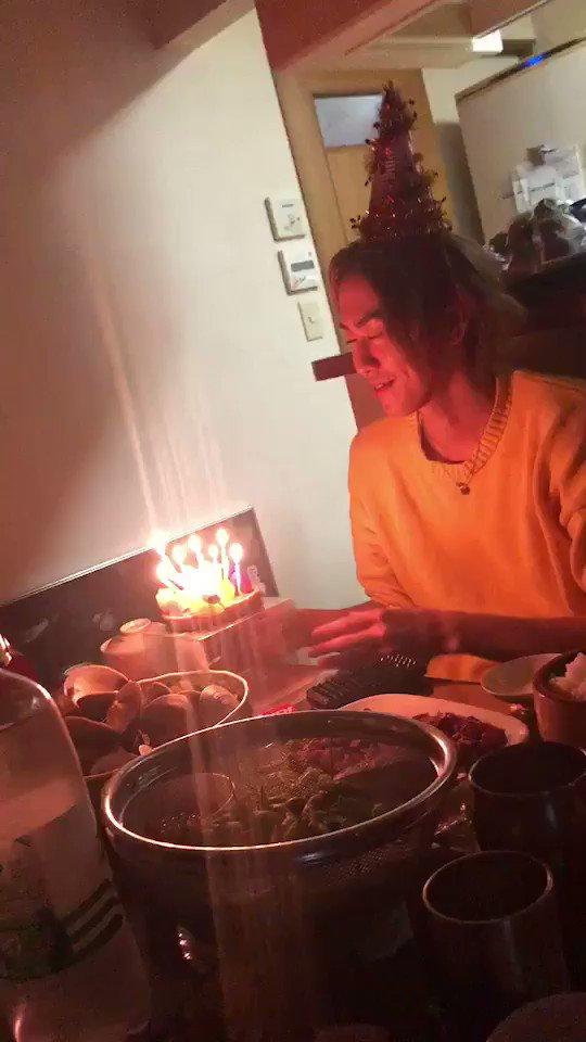 ちょっと早いけど、昨日お誕生日の弟と誕生日パーティーを家族皆でしました❤︎