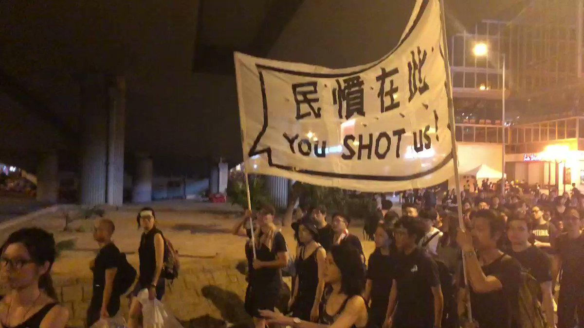 Hong Kong now @Skynews