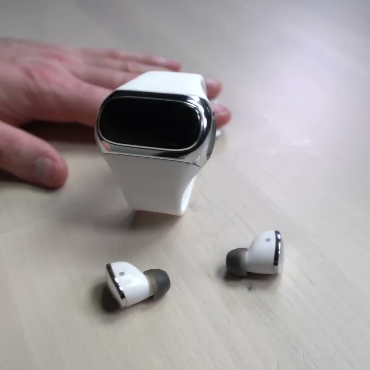 Literally No One: Wearbuds: it's like Airpods but you put them in a watch... https://youtu.be/sBOhh9DW-7I