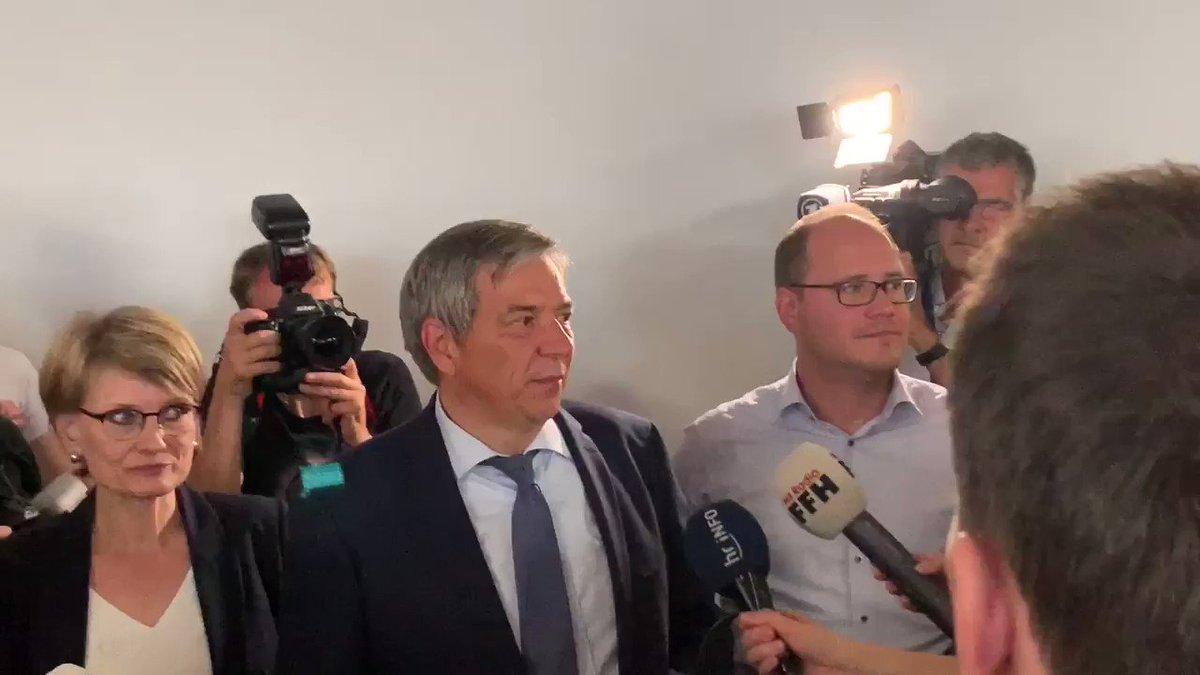 Der @spdde-Kandidat @GertUweMende hat soeben die OB-Wahl in der Landeshauptstadt #Wiesbaden gewonnen! #Mende #GUM #Wahnsinn