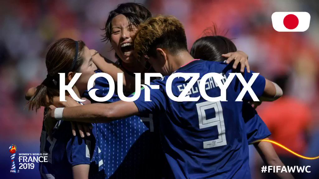 Congrats, @jfa_nadeshiko! 🇯🇵 See you in the Round of 16! #FIFAWWC