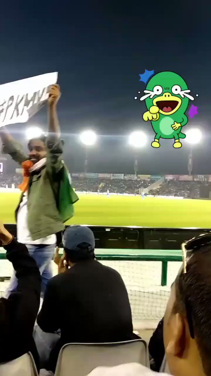 Yes,#PKMKB and it's officially Nowजय हो 🇮🇳#INDvsPAK