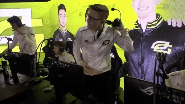 HERE COMES @OpTicGaming 😤  Onto the Losers Final #GreenWall #CWLAnaheim