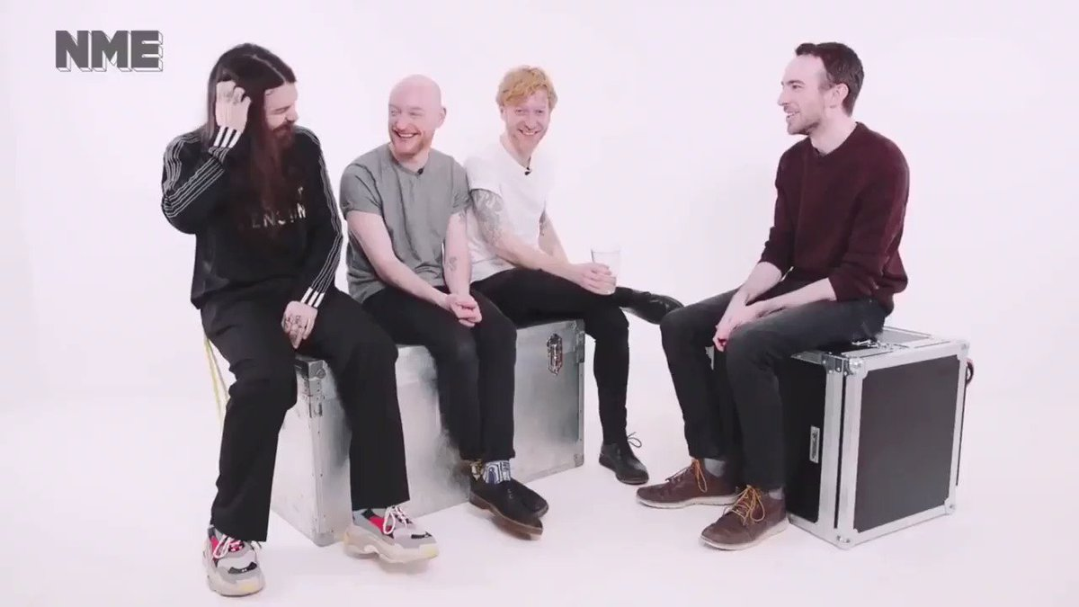 The awesome @BiffyClyro headlining #iowfestival2019! What makes #biffyclyro even more awesome is that they know exactly who speaks for everyone in this country, they know what @jeremycorbyn is all about, as you can see from this clip taken from their @NME interview.