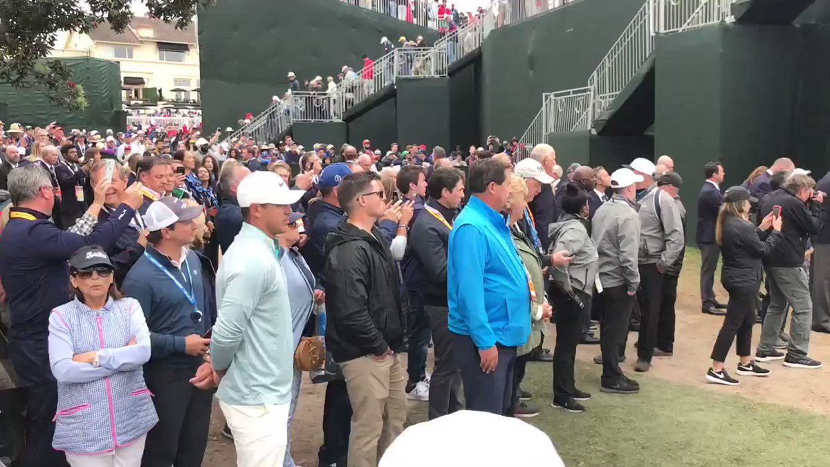 Video: Brooks Koepka Shows Great Sportsmanship After U.S. Open