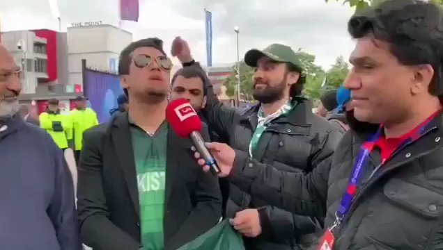 #INDvPAK ..He said it with sincerity