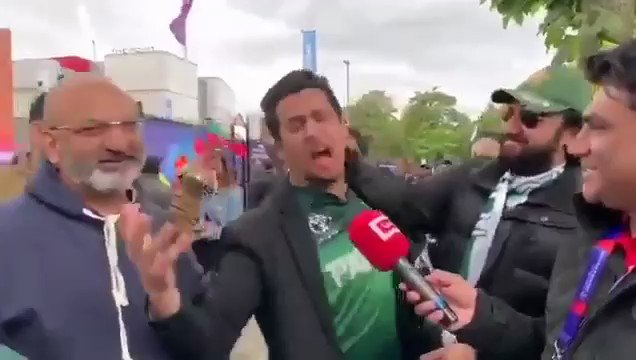 Frustrated Pakistani Fan..Congratulations to #TeamIndia #CWC2019