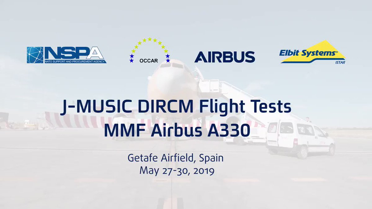 NATO, Airbus & @ElbitSystemsLtd have successfully executed integration of J-MUSIC™ #DIRCM self-protection system onboard #A330MRTT aircraft of NATO's MMF. https://bit.ly/2KVOXqT  #parisairshow2019 #PAS19 #airbus @NATO