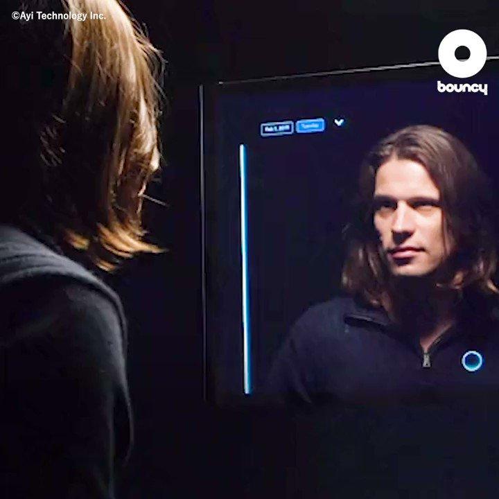 今時の鏡はあなたの生活までもサポートしてくれます✌️by Ayi Technology Inc.価格や入手方法はこちら👉#鏡 #ミラー #AI