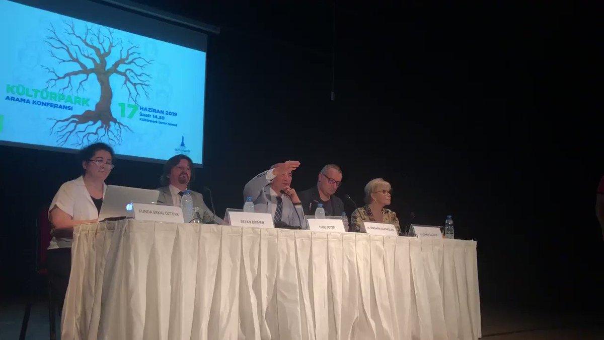 Image for the Tweet beginning: Arama Konferansları kapsamındaki ilk konferansımızda