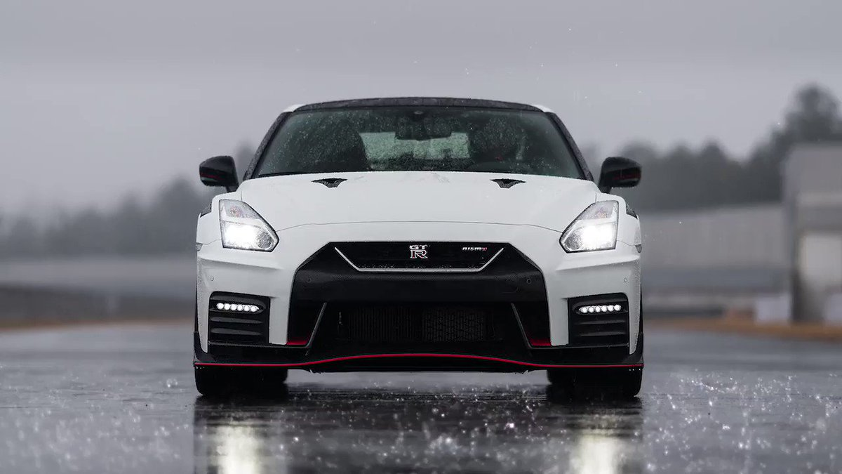 """""""Pursuing driving pleasure is the most important concept behind the GT-R, and the new NISMO's performance suggest it's a car that belongs on the race track – but is also at home on the open road."""" Hiroshi Tamura, Chief GT-R Product Specialist. #OMGTR #NISMO"""