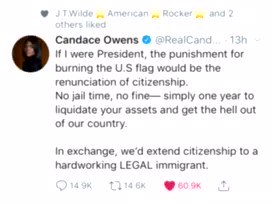 This is blatant! @RealCandaceO should have 10x the likes on this tweet! But here's why there's not!!!  This biased censorship is why Candace and I have both joined Parler! Join us!!!