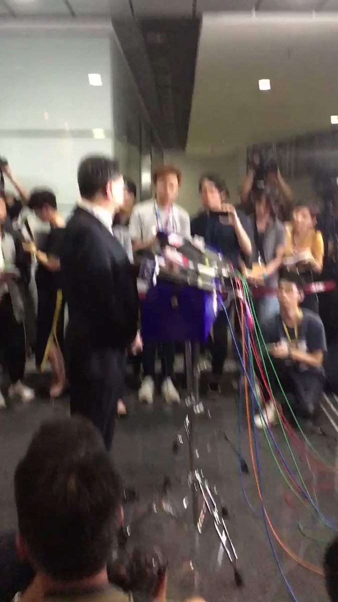 Hong Kong pressers are nicely rowdy, although it can be hard to get a word in