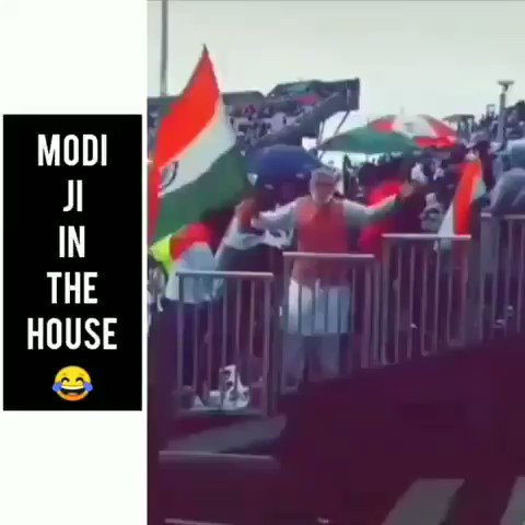 O teri, How did I miss this. Modi ji was there in the house  #IndiaVsPakistan #INDvPAK