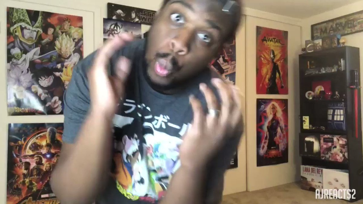 Now playing Billie Eillish! bad guy! Go check out the music video reaction now!!! #billieeillish #billie #eillish #badguy #buryafriend #dance #goofy #music #musicvideo #reaction #dragonballz #whenweallfallaleepwheredowego #AJREACTS2  https://youtu.be/5B1F2IfMnXU