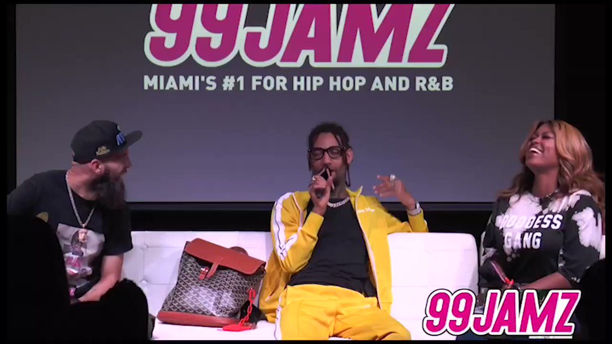 At #JAMZLIVE, @DJEntice and @SUPACINDY ask @pnbrock about the craziest gimmick he's ever seen in hip-hop  His answer: #6ix9ine