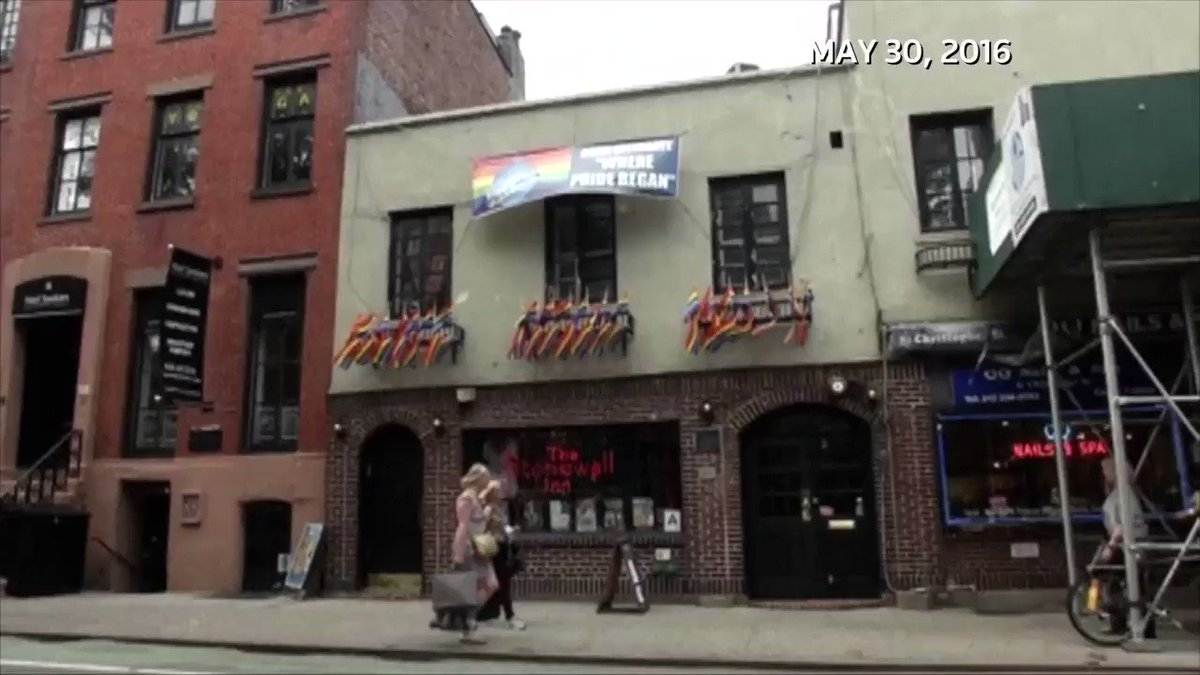 I have to be versatile as a reporter. Here's my @reuterstv throwback video produced by @zgoelman on the historical significance of the Stonewall Inn to the LGBT movement.