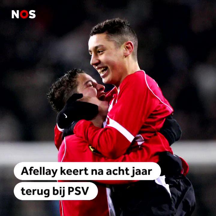 "Afellay terug bij PSV: ""Mooie kans na tegenslag"""