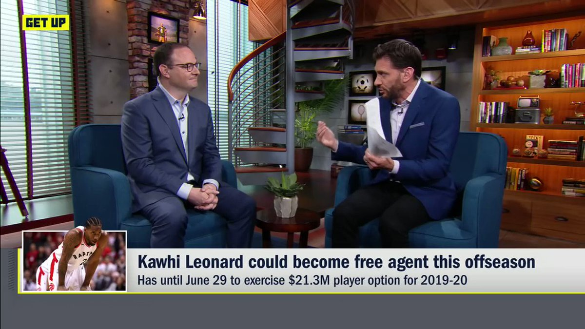 Kawhi Leonard Is Reportedly Only Seriously Considering 2 Teams