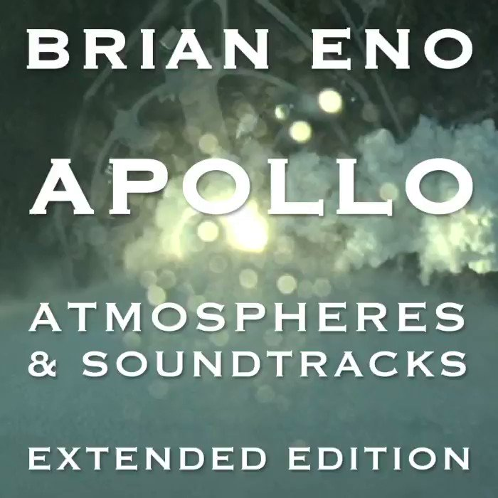 'Apollo – Atmospheres & Soundtracks – Extended Edition' is out July 19th. Pre-Order here: bit.ly/2KxuDLZ