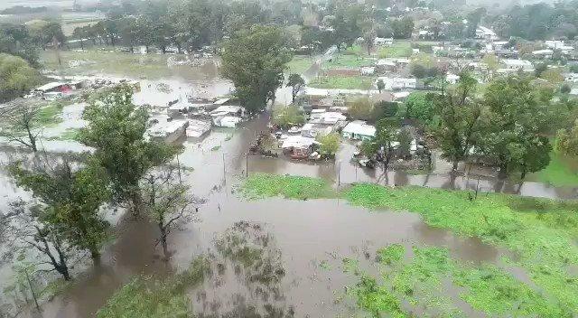 Image for the Tweet beginning: El temporal golpea a los