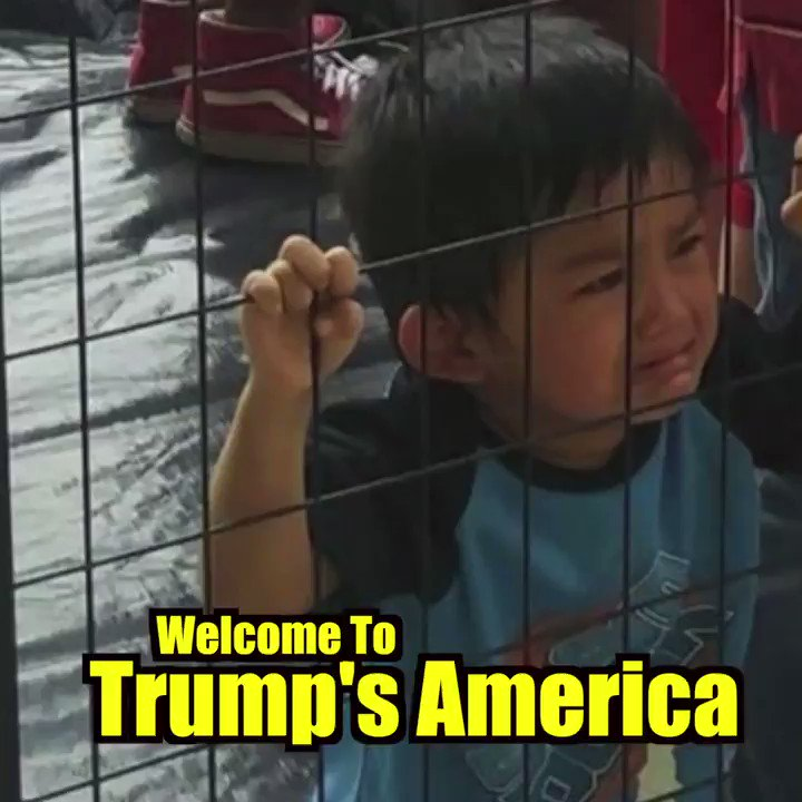 """Trump begins 2020 campaign, says he'll arrest """"Illegals"""" in US. There r over 100,000 Canadians here w/out documentation. Think we'll see them in cages? @realdonaldtrump @senatemajldr F you, you racist pigs #Resist #impeach https://www.washingtonpost.com/immigration/trump-vows-mass-immigration-arrests-removals-of-millions-of-illegal-aliens-starting-next-week/2019/06/17/4e366f5e-916d-11e9-aadb-74e6b2b46f6a_story.html?utm_term=.b11488ad6537…"""