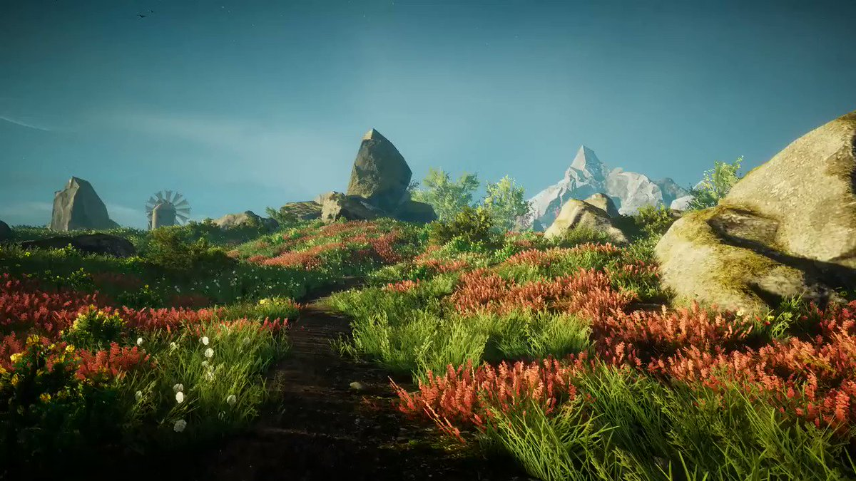 Yup, Eastshade is hands down the most gorgeous game of 2019