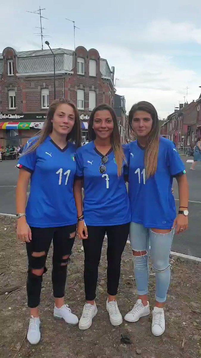 """Forza Azzurre!!"" 💙  #JuventusWWC #FIFAWWC"