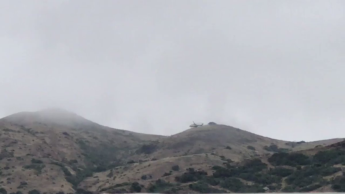 Image for the Tweet beginning: VIDEO #LASD Air Rescue 5